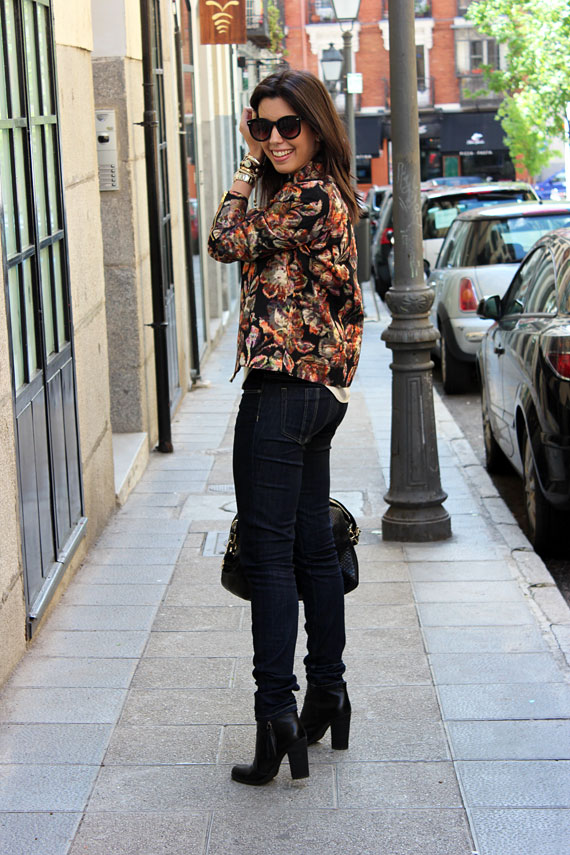 Look do dia: Jeans e estampa!