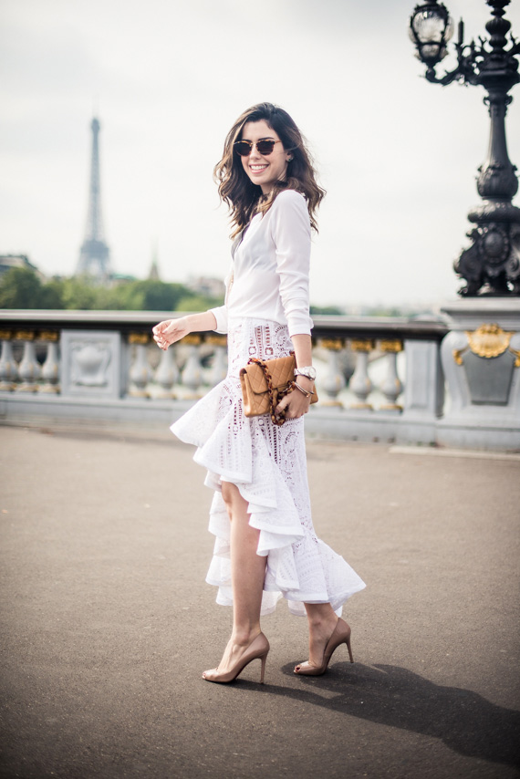 Look do dia: All White em Paris! - Garotas Estúpidas