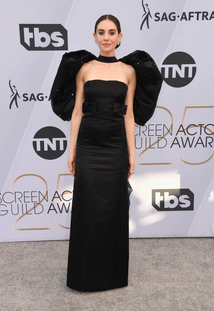 LOS ANGELES, CA - JANUARY 27:  Alison Brie attends the 25th Annual Screen Actors Guild Awards at The Shrine Auditorium on January 27, 2019 in Los Angeles, California.  (Photo by Frazer Harrison/Getty Images)