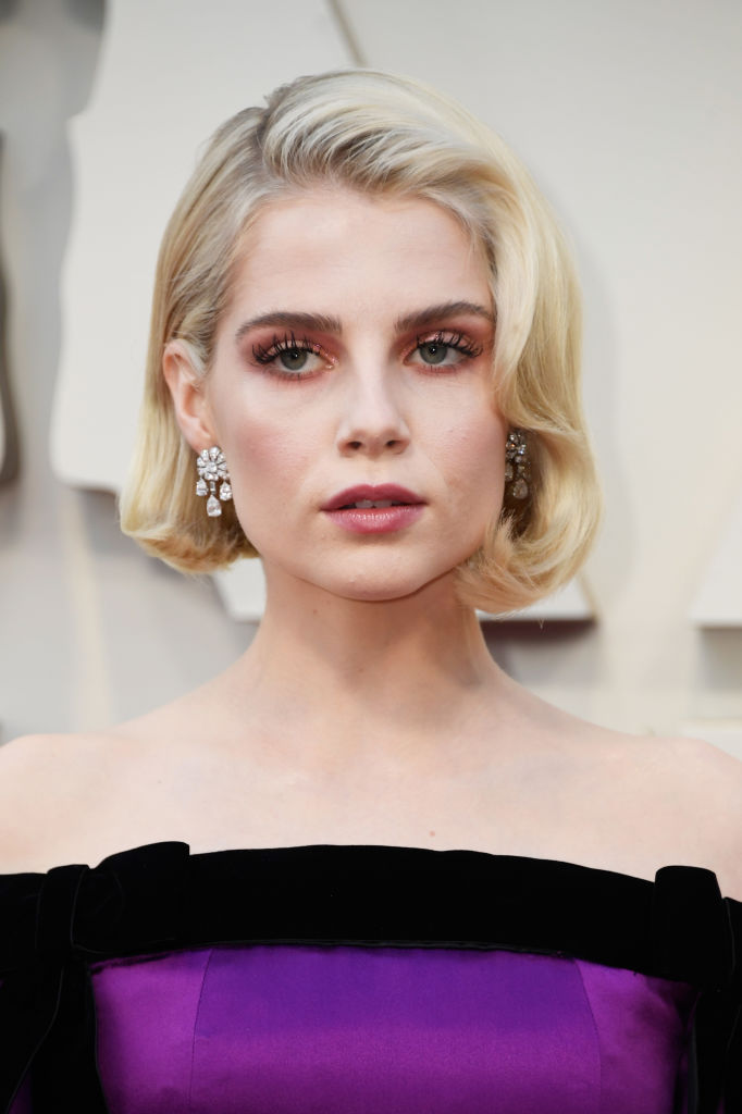 HOLLYWOOD, CALIFORNIA - FEBRUARY 24: Lucy Boynton attends the 91st Annual Academy Awards at Hollywood and Highland on February 24, 2019 in Hollywood, California. (Photo by Frazer Harrison/Getty Images)
