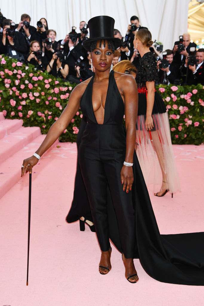 NEW YORK, NEW YORK - MAY 06: Danai Gurira attends The 2019 Met Gala Celebrating Camp: Notes on Fashion at Metropolitan Museum of Art on May 06, 2019 in New York City. (Photo by Dimitrios Kambouris/Getty Images for The Met Museum/Vogue)