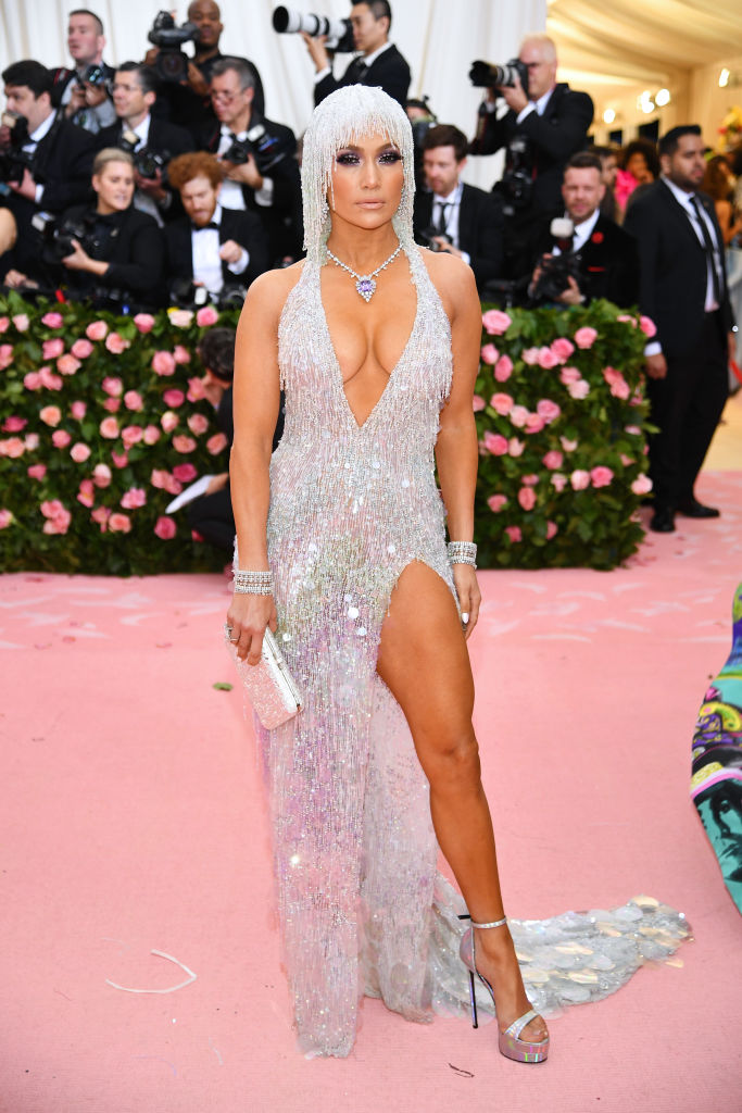 NEW YORK, NEW YORK - MAY 06: Jennifer Lopez attends The 2019 Met Gala Celebrating Camp: Notes on Fashion at Metropolitan Museum of Art on May 06, 2019 in New York City. (Photo by Dimitrios Kambouris/Getty Images for The Met Museum/Vogue)