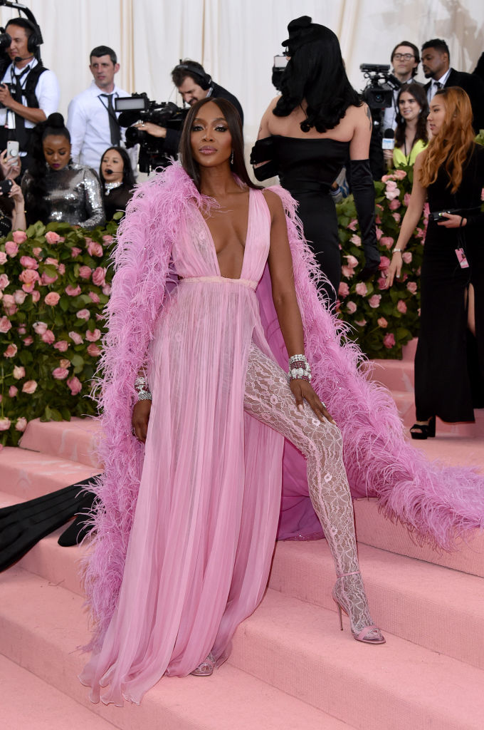 NEW YORK, NEW YORK - MAY 06: Naomi Campbell attends The 2019 Met Gala Celebrating Camp: Notes On Fashion at The Metropolitan Museum of Art on May 06, 2019 in New York City. (Photo by John Shearer/Getty Images for THR)