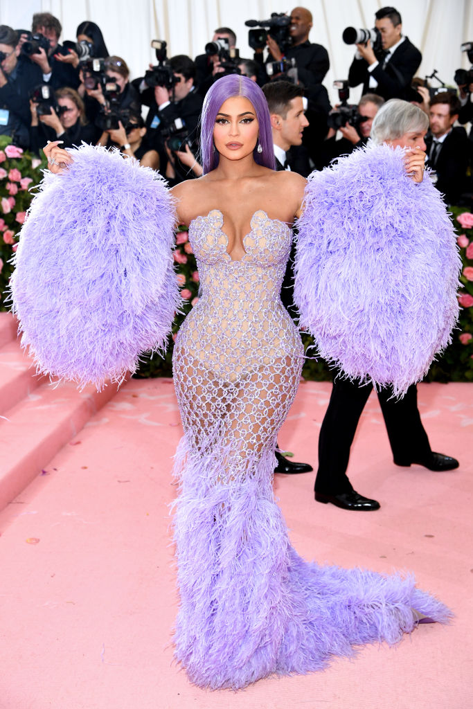 NEW YORK, NEW YORK - MAY 06: Kylie Jenner attends The 2019 Met Gala Celebrating Camp: Notes on Fashion at Metropolitan Museum of Art on May 06, 2019 in New York City. (Photo by Dimitrios Kambouris/Getty Images for The Met Museum/Vogue)