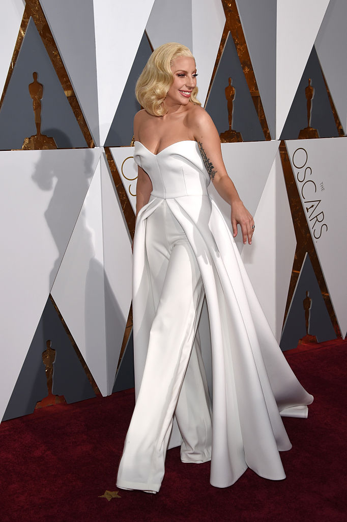 HOLLYWOOD, CA - FEBRUARY 28:  Lady Gaga attends the 88th Annual Academy Awards at Hollywood & Highland Center on February 28, 2016 in Hollywood, California.  (Photo by Ethan Miller/Getty Images)