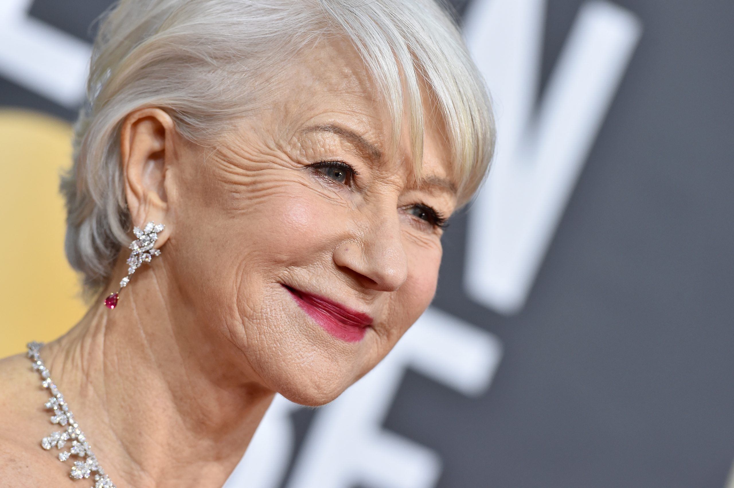 BEVERLY HILLS, CALIFORNIA - JANUARY 05: Helen Mirren attends the 77th Annual Golden Globe Awards at The Beverly Hilton Hotel on January 05, 2020 in Beverly Hills, California. (Photo by Axelle/Bauer-Griffin/FilmMagic)